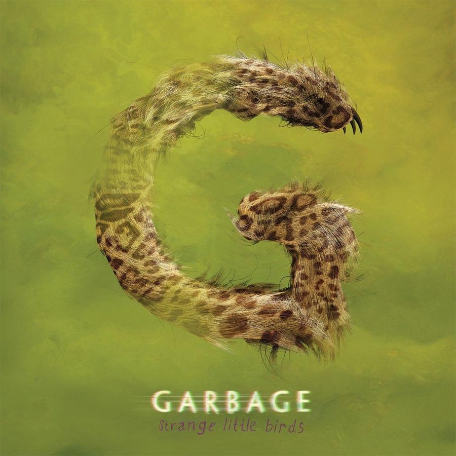 """Plattencover: """"Strange Little Birds"""" von Garbage"""