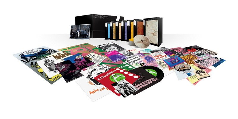 "Pink Floyd ""The early years 1968 - 1972"" vorbestellen"