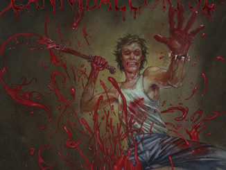 """Cannibal Corpse - Plattencover """"Red Before Black"""""""