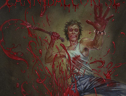 "Cannibal Corpse - Plattencover ""Red Before Black"""