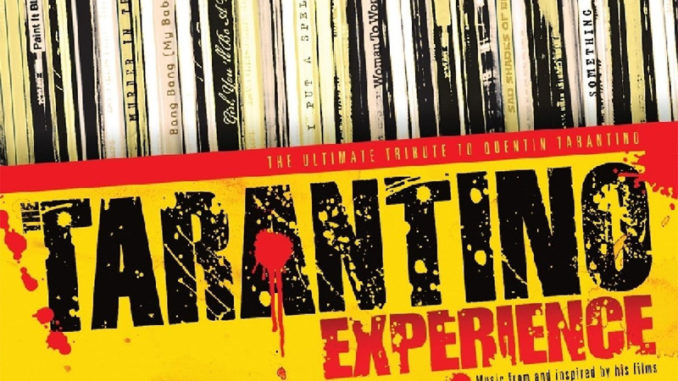 """Cover """"The Tarantino Experience"""""""